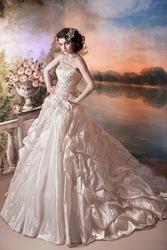 Свадебное платье от модельера Светланы Лялиной Малена