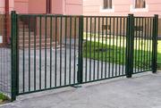 ворота садовые распашные