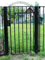 калитки садовые из профиля