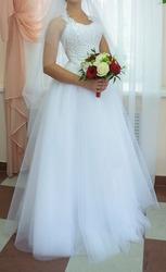Продам изумительно красивое свадебное платье (Рязань)