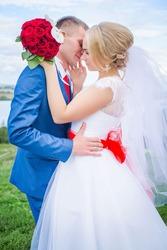 Свадебное платье б/у 10000